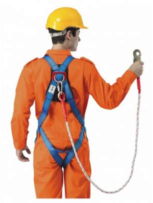 Harness and lanyard safety training