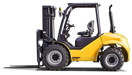 Rough Terrain Forklift Course